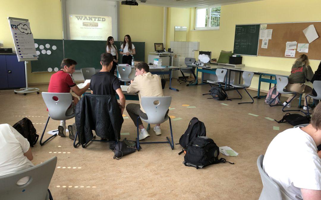 Erste Erfahrungen mit Assessment Center an der Schrenzerschule
