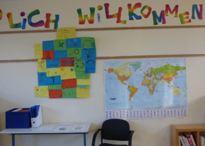 Klassenraum Wandgestaltung