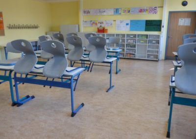 Klassenraum oberes Schulgebäude 2