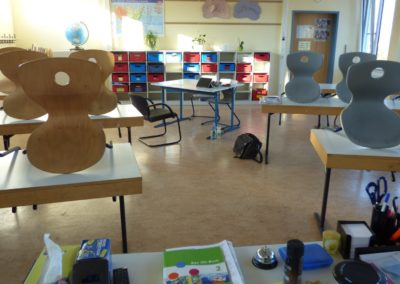 Klassenraum oberes Schulgebäude 3
