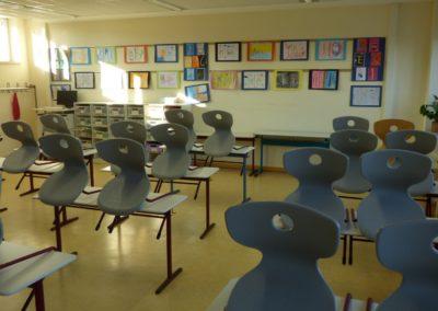Klassenraum unteres Schulgebäude 2