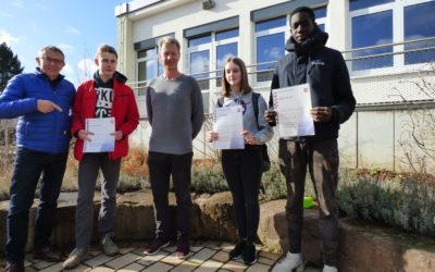 IGS Schrenzerschule ehrt Sieger im Mathematikwettbewerb