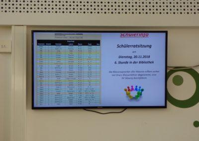 Mensa Digitales Schülerboard