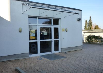 Schülerbibliothek Eingang